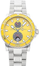 Ulysse Nardin Marine Mechanical (Automatic) Yellow Dial Mens Watch 263-33-3/941 (Certified Pre-Owned)