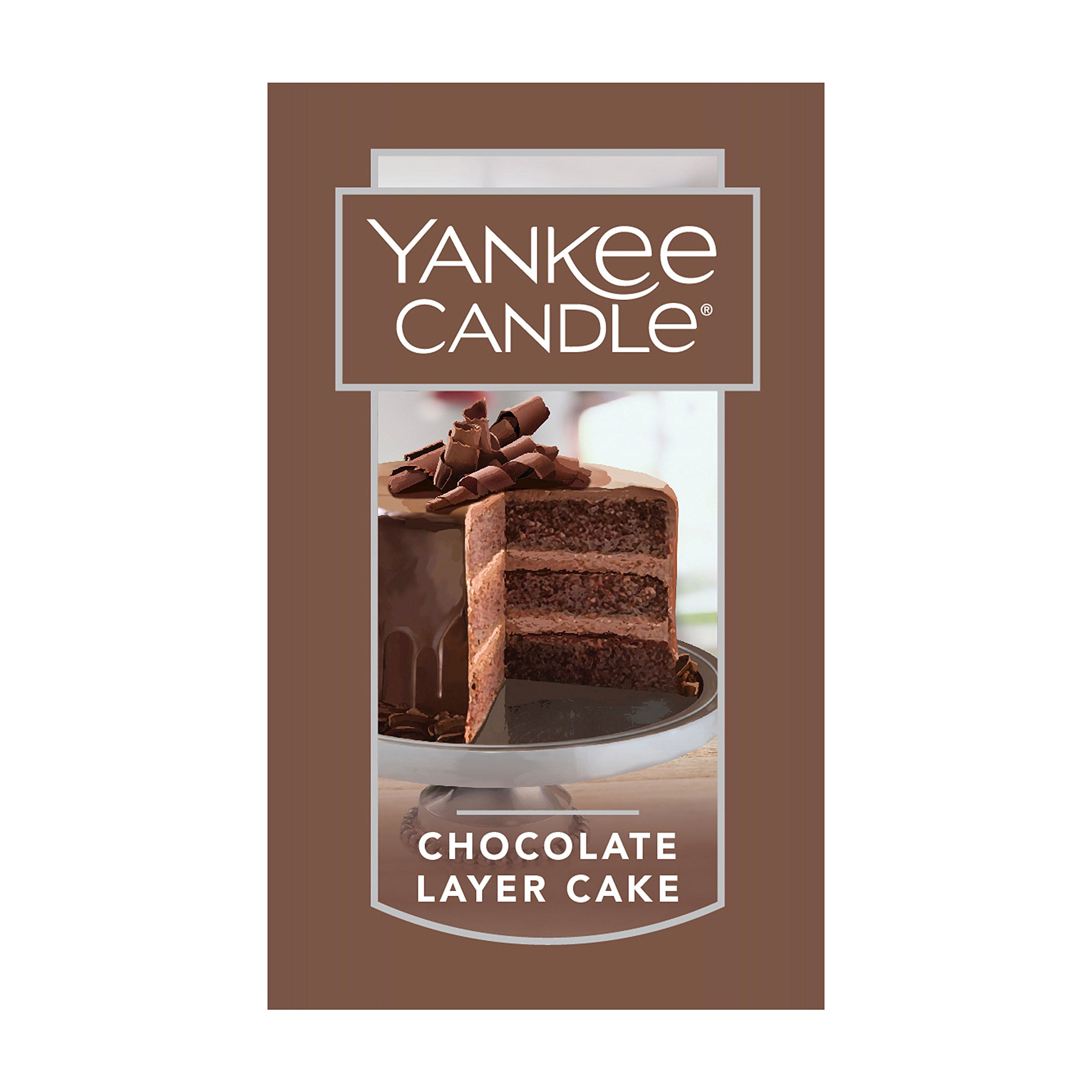 Yankee Candle Chocolate Layer Cake Scented Premium Paraffin Grade Candle Wax With Up To 150 Hour Burn Time Large Jar Home Kitchen