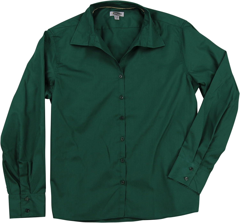 Women's Plus Sized Button Down Shirt
