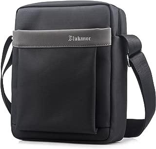 SPAHER Oxford Men Shoulder Bag Ipad Messenger Business Bag Crossbody Tote Satchel Sling Waterproof Travel Bag Handbag Kindle Tablet Case Daily Man Bag Gift with Adjustable Shoulder Strap Grey