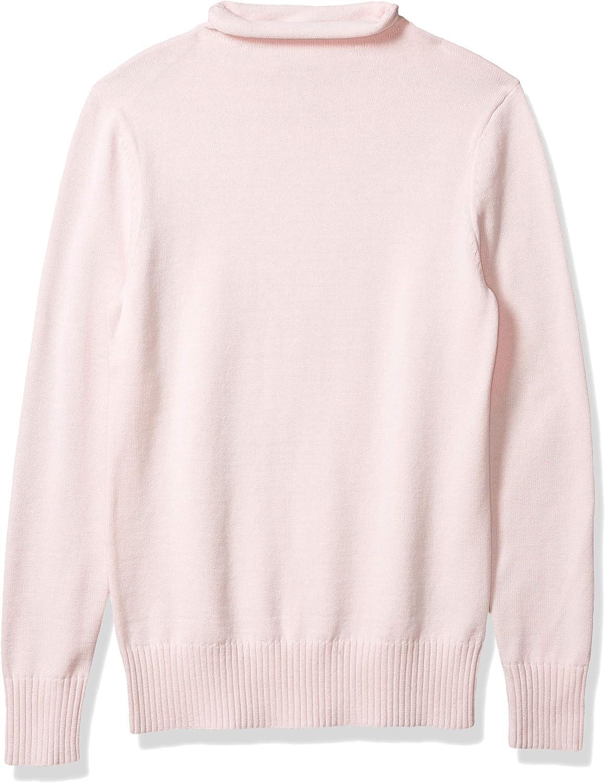 Essentials Jersey de Manga Larga 100/% Algod/ón con Cuello Redondo Pullover-Sweaters Mujer