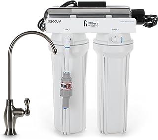 U200UV Ultraviolet UV Drinking Water Filtration Purifier System 3 Stage Ultimate Filter & Sterilize - Built in USA
