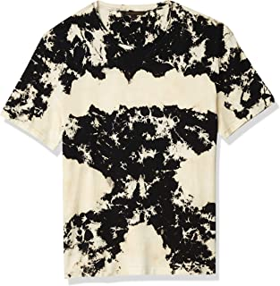 John Varvatos Star USA Men's Tompkins Short Sleeve Cotton Tie Dye Crew