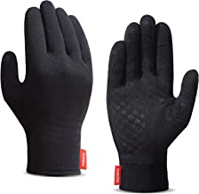 Upgraded Touch Screen Running Gloves Lightweight & Thermal Winter Gloves - Compression Mitten Liners Gloves for Men Women ...