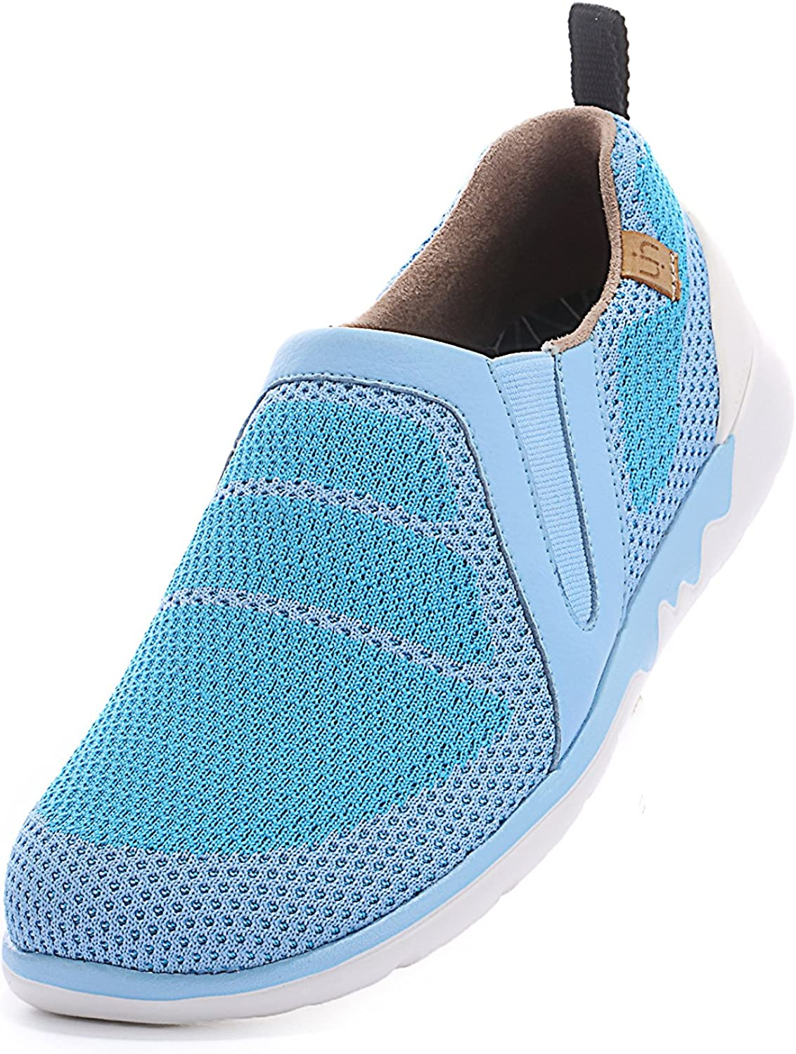 UIN Women's Victoria colorful Knit Travel shoes bluee