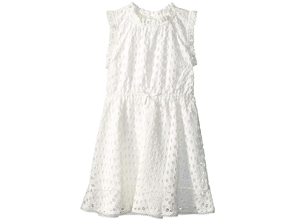 Bardot Junior Lorri Embroideries Dress (Big Kids) (Ivory) Girl's Dress