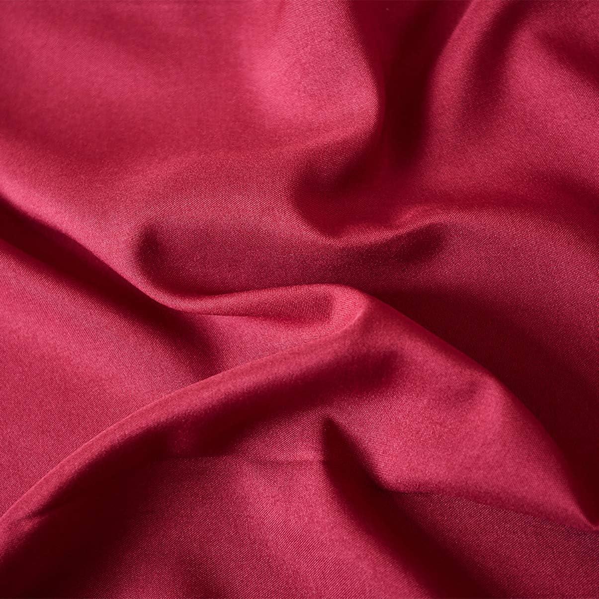 doble blanco SaDiao Juego de s/ábanas de 4 piezas microfibra s/ábana bajera bolsillos profundos s/ábana encimera 2 fundas de almohada resistente a las arrugas a las manchas lavable a m/áquina