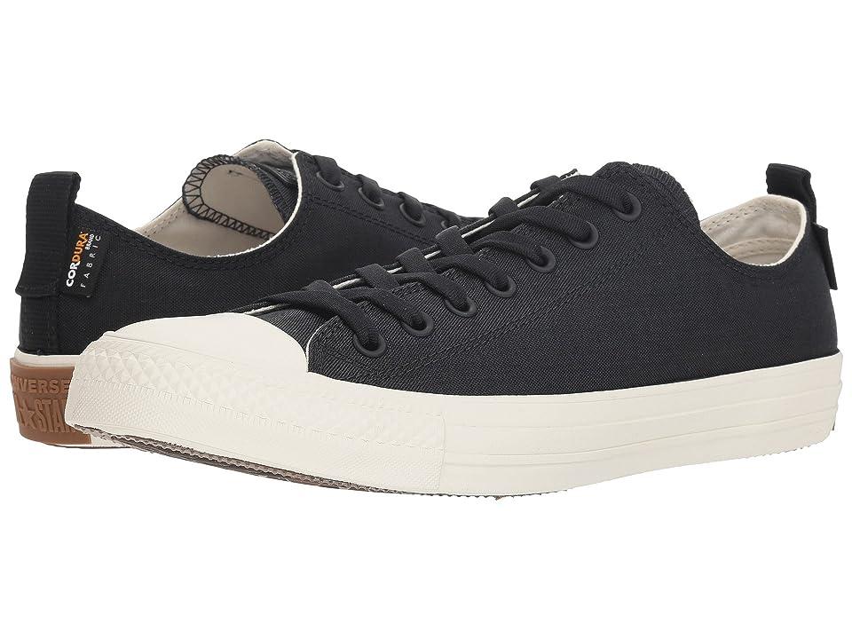 Converse Chuck Taylor All Star Cordura Ox (Black/Egret/Gum) Shoes