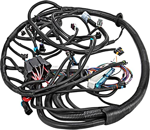 new arrival Mophorn Standalone Wiring Harness, Extra Long Engine Wiring Harness Kit, Complete Wiring Harness with Fuse Blocks online sale & Sensor, Wiring Harness for outlet online sale 97-02 LS1/LS6/ LS2/3/7 Engines Vortec, W 4L60E DBC Or T56 outlet online sale