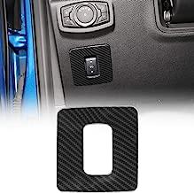 Voodonala for F150 Gas Pedal Cover Adjustable Pedal Trim fit 2015 2016 2017 Ford F150(Carbon Fiber Grain)