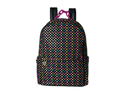 Betsey Johnson Heart on My Sleeve Large Backpack (Multi) Backpack Bags