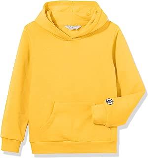 Kid Nation Kids' Soft Brushed Fleece Casual Basic Pullover Hooded Sweatshirt Hoodie for Boys or Girls