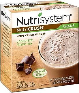 Nutrisystem Nutricrush Chocolate Shake Powder Mix, 20 Pack