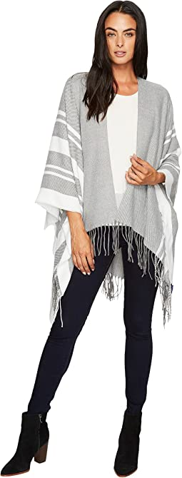 Hat Attack - Stripe Poncho