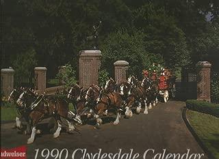Budweiser 1990 Clydesdale Calendar