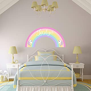 rainbow wall decal