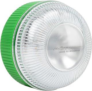 Motorkit Luz magnética LED de Emergencia homologada (V16) de Alta luminancia, sustituye a los triangulos, Apto para Uso co...