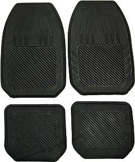 Koolatron Pants Saver Better Nomess 4 Piece All Season All Weather Car Mat Set (Black)
