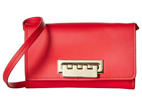 Eartha Iconic Small Phone Wallet Crossbody, Red