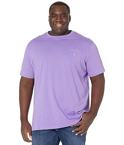 Polo Ralph Lauren Big & Tall Big Tall 26/1 Jersey Short Sleeve Classic Fit T-Shirt (Hampton Purple/C6103) Men