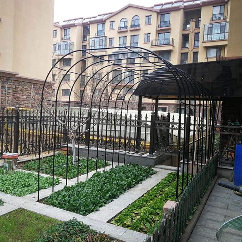 BINZII depot Garden Arbor Long-awaited Pergola Arch Outdoor Climbing for Plants Ar