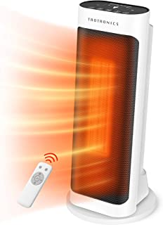 Taotronics Space Heater 1500W Electric Small Portable with Remote Control for Indoor Use,..