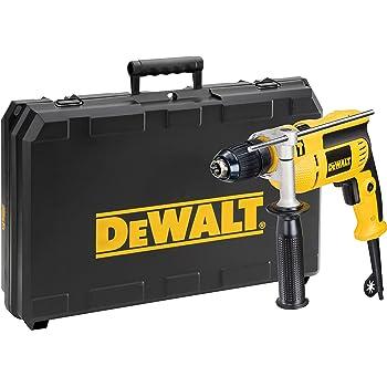 Dewalt DWD024KS-QS Taladradora de percusión en maletín de Transporte DWD024KS, 650 vatios, W, 230 V, Negro y amarillo: Amazon.es: Bricolaje y herramientas