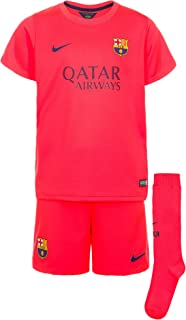 Nike Barcelona Away Little Boys Mini Kit 2014-2015