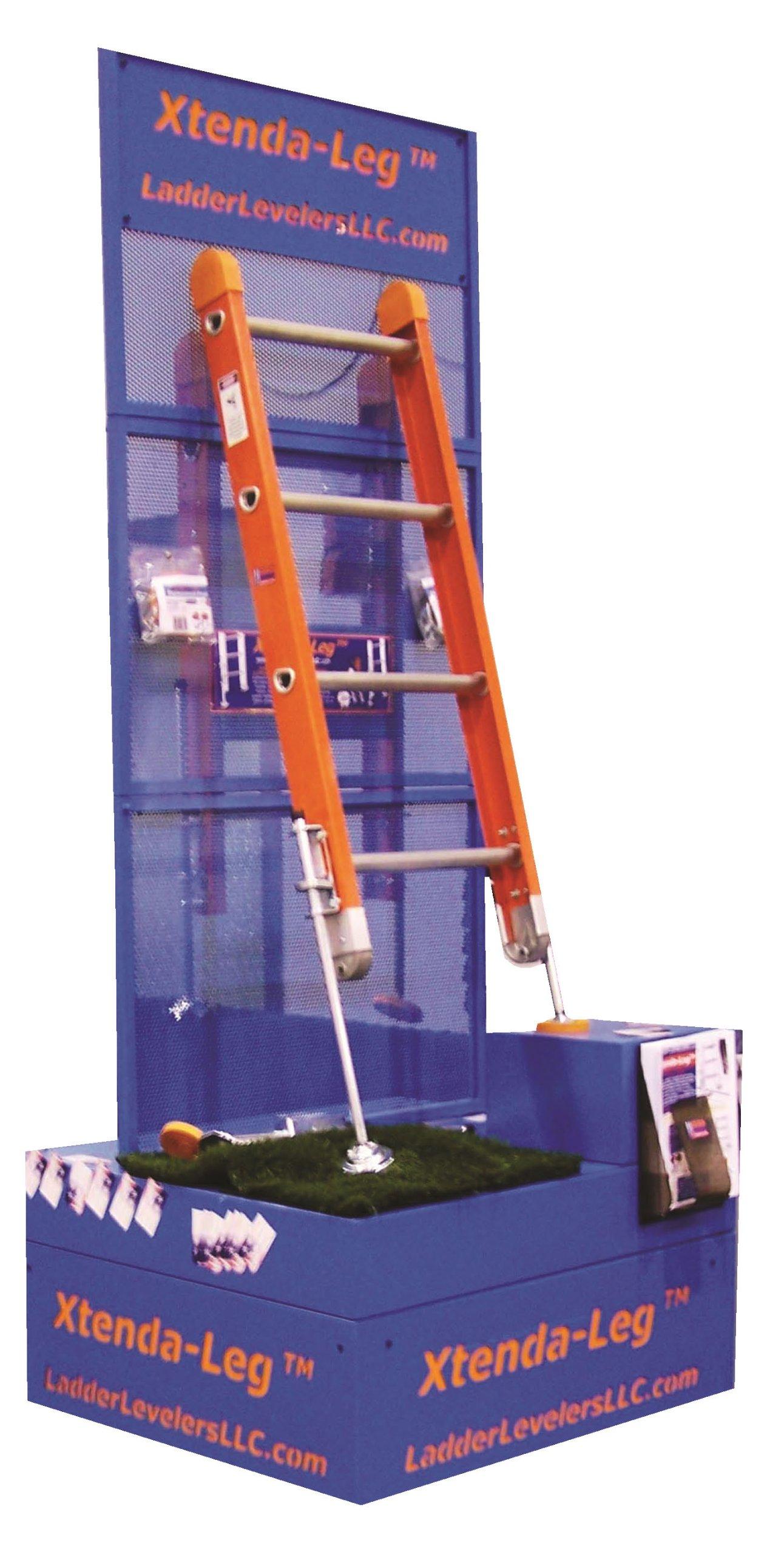 Escalera ACCESORIES 600C - Par nivelador de escalera: Amazon.es: Bricolaje y herramientas