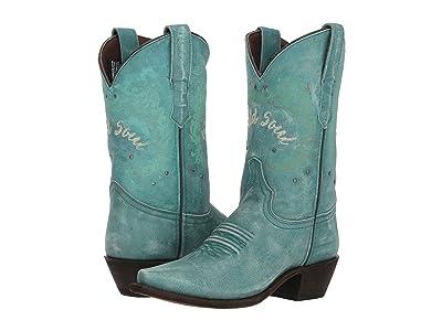 Laredo Riled Up (Turquoise) Cowboy Boots