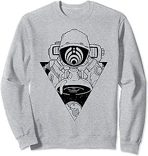 Bassdrop Trippy Astronaut Basshead EDM Music Festival 808 Sweatshirt