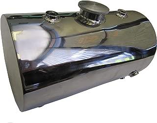 Stainless Steel Oil Tank for Custom Motorcycles / Harley Chopper Bobber - Round