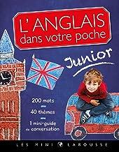 L'anglais dans votre poche, spécial junior (Bilingues jeunesse) (French Edition)
