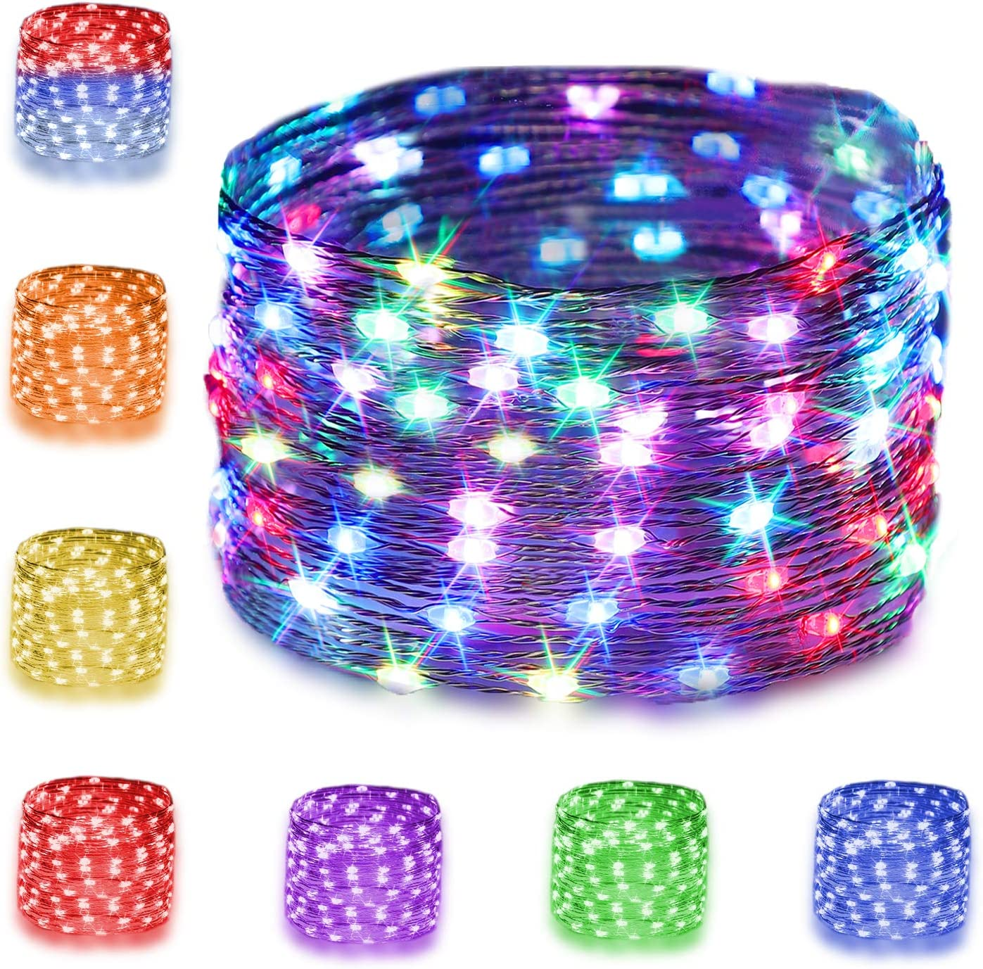 16 Multi Color Changing Fairy Lights Con USB with Powered Remote Max 41% Popular standard OFF