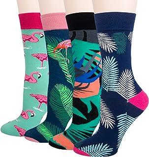 Chalier, Calcetines coloridos de fantasía divertidos para hombre, regalos de algodón acogedor, diseño único y llamativo