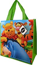 Disney Winnie the Pooh Tote Bag (with Tiger and Eeyore) - 13 X 14 X 6 Inches