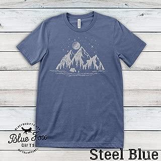 Mountain Shirt  Camping Shirt   Hiking Shirt  Wanderlust shirt  Outdoors shirt  Outdoor lover gift  Adventure shirt  Traveling Shirt  Soft Bella Cotton Shirts