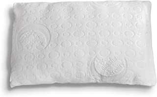 Bamboo Alternative Down Pillow - Adjustable Custom Fit to You - Soft Hypoallergenic Polyester - Memory Foam Liner - Machine Washable - Removable Cooling Cover