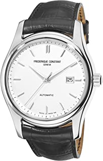 Classics Index Automatic Watch - 303S6B6 Silver Dial Black Strap Watch