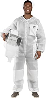 Bees & Co U85 Ultralight Beekeeper Suit with Square Veil
