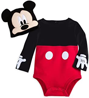 mickey mouse costume bodysuit set for baby personalizable
