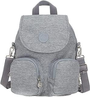 Kipling Peppery Eyes Wide Open Firefly Up Small Backpack Cool Denim