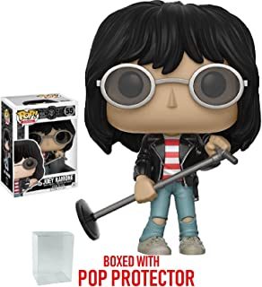 Funko Pop! Rocks: Music - Joey Ramone Vinyl Figure  (Includes Pop Box Protector Case)