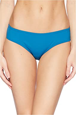 Shore Shades Shirred Smooth Fit Cheeky Bikini Bottom