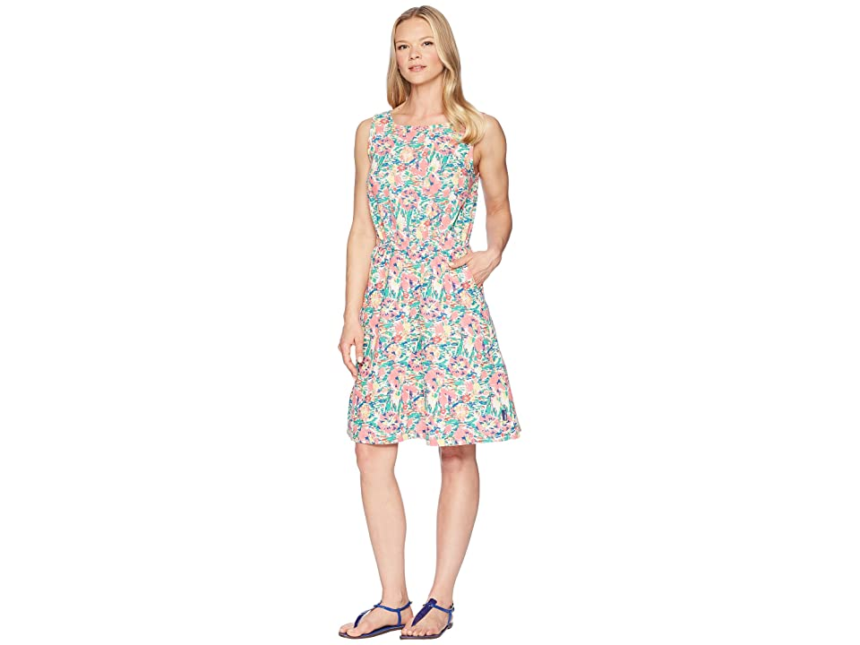 Columbia Harborside Linen Dress (Lollipop Flower Burst) Women
