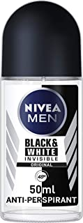Nivea 48h Deodorant Roll-on Roll on Invisible for Black&white Anti Perspirant 50ml