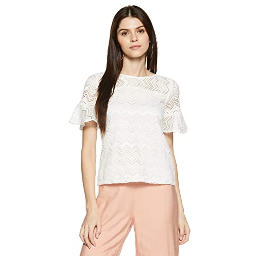 0f51903b58a9e White Lace Top  Buy White Lace Top Online at Best Prices in India ...