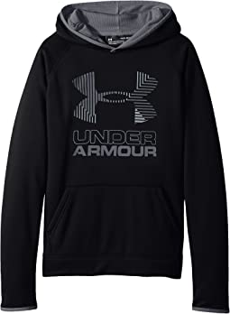 SG Armour Fleece Solid Big Logo Hoodie (Big Kids)