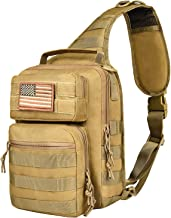 NOOLA Tactical Sling Bag Pack Military Shoulder Backpack Molle Assault Range Bag