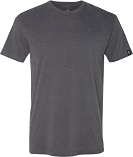 Men's Premium Ultra Soft Sueded Jersey Crewneck Plain and Heather T-Shirts